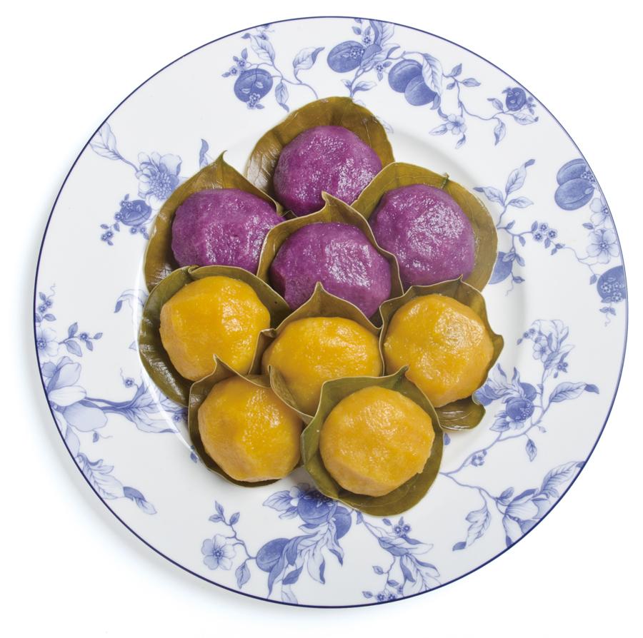 安納いもと紫いもの饅頭